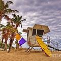 Fort Lauderdale Lifeguard Station by DM Photography- Dan Mongosa
