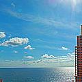Fort Lauderdale Ocean View by Nancy L Marshall