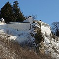Fort Mackinac Seastack by Keith Stokes