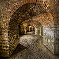 Fort Macomb Arches Vertical by David Morefield