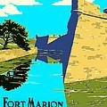 Fort Marion - Castillo De San Marcos by Mark Tisdale