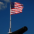 Fort Mchenry Flag And Cannon by Bill Swartwout Fine Art Photography