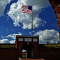 Fort Mchenry Main Gate by Bill Swartwout Fine Art Photography
