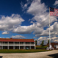 Fort Mchenry Parade Ground Barracks by Bill Swartwout Fine Art Photography