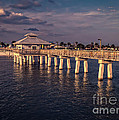 Fort Myers Beach Fishing Pier by Edward Fielding