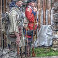 Fort Pitt Sentry's by Randy Steele