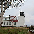 Fort Point Lighthouse 9239 by Joseph Marquis