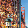 Fort Point Lighthouse by Jerry Fornarotto