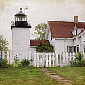 Fort Point Lighthouse by Joan Carroll