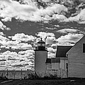 Fort Point Lighthouse by Robert Clifford