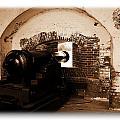 Fort Pulaski Canon Sepia by Jacqueline M Lewis