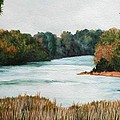 Fort Toulouse Coosa Tallapoosa River by Beth Parrish