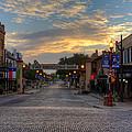Fort Worth Stockyards Sunrise by Jonathan Davison