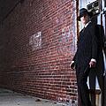 Forties Style Film Noir Gangster by Diane Diederich