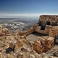 Fortress Of Masada Israel 1 by Mark Fuller