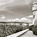 Fortress Overlooking Palma De Majorca by David Coleman