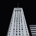Foshay Tower  Mono by Rachel Cohen