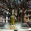 Fountain Alicante by Paul Martin