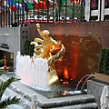 Fountain And Prometheus - Rockefeller Center by Christiane Schulze Art And Photography