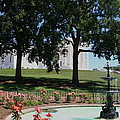 Fountain At Capitol Square  by Christiane Schulze Art And Photography