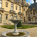 Fountain At Chateau De Chantilly by Dave Mills