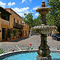Fountain At Tlaquepaque Arts And Crafts Village Sedona Arizona by Amy Cicconi