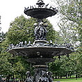 Fountain Boston Common by Christiane Schulze Art And Photography
