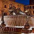 Fountain By Night by Christine Czernin Morzin