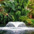 Fountain In The Park by Kaye Menner