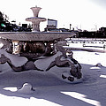 Fountain In The Snow by Alice Gipson