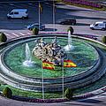 Fountain Of Cebeles II by Joan Carroll