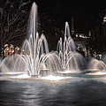 Fountains At Night by Rob Weisman