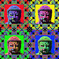 Four Buddhas 20130130 by Wingsdomain Art and Photography