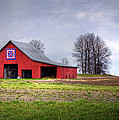Four Corners Quilt Barn by Cricket Hackmann