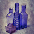 Four Glass Bottles by Garry Gay