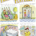 Four Panels Advertise Parkway Playland by Roz Chast