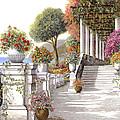 four seasons-summer on lake Como by Guido Borelli