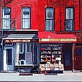 Four Shops On 11th Ave by Anthony Butera