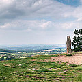 Four Standing Stones On The Clent Hills by Ann Garrett
