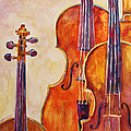 Four Violins by Jenny Armitage