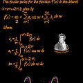 Fourier Series by Artist Nandika  Dutt