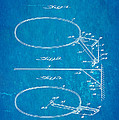 Fox Foldable Basketball Goal Patent Art 1952 Blueprint by Ian Monk
