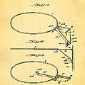 Fox Foldable Basketball Goal Patent Art 1952 by Ian Monk