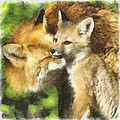 Fox One by Ingrid Smith-Johnsen