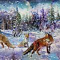 Fox Storm by Michael Pittas