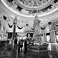 foyer and entrance to the forum shops at caesars palace luxury hotel and casino Las Vegas Nevada USA by Joe Fox