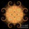 Fractal 013 - 1 by Maria Urso