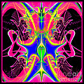 Fractal 15 Color Cacophony  by Rose Santuci-Sofranko