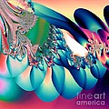 Fractal Abstract 001 by Maria Urso