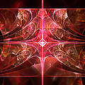 Fractal - Abstract - The Essecence Of Simplicity by Mike Savad